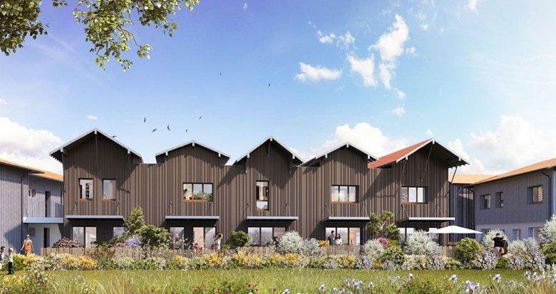 Achat / Vente programme immobilier neuf La Teste-de-Buch à 2 kilomètres du centre-ville (33260) - Réf. 3505