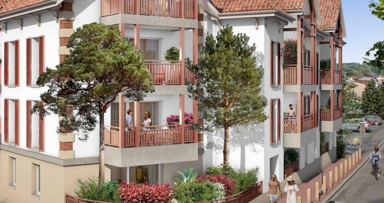 Achat / Vente programme immobilier neuf Lacanau Océan à 200m de la plage (33680) - Réf. 6060