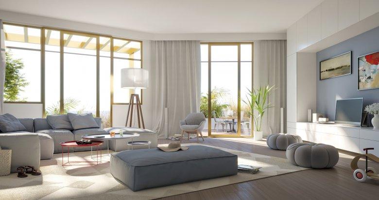 Achat / Vente programme immobilier neuf Lacanau Océan, à deux pas de la Plage (33680) - Réf. 5221