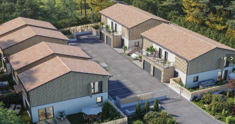 Achat / Vente programme immobilier neuf Lanton sur les berges du Bassin d'Arcachon (33138) - Réf. 4643