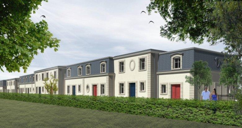 Achat / Vente programme immobilier neuf Le Bouscat centre-maison de ville style bourgeois (33110) - Réf. 2214