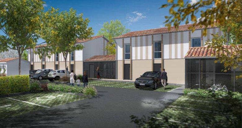 Achat / Vente programme immobilier neuf Le Haillan à 10 minutes du centre-ville (33185) - Réf. 4554