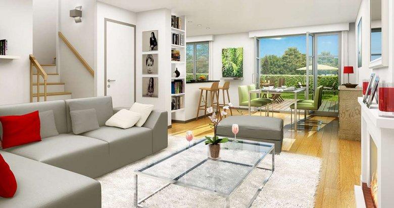 Achat / Vente programme immobilier neuf Le Haillan proche Bordeaux (33185) - Réf. 2053