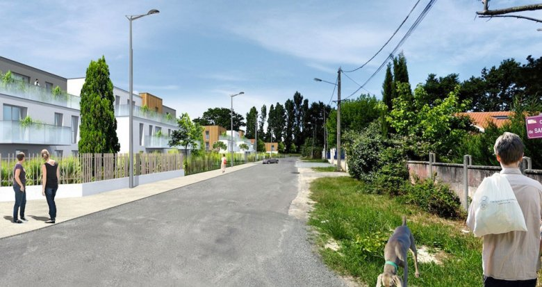 Achat / Vente programme immobilier neuf Le Taillan Medoc proche des transports (33320) - Réf. 234