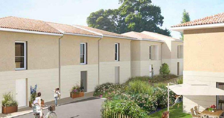 Achat / Vente programme immobilier neuf Le Taillan Médoc, proche future station de Tramway Chai (33320) - Réf. 3893