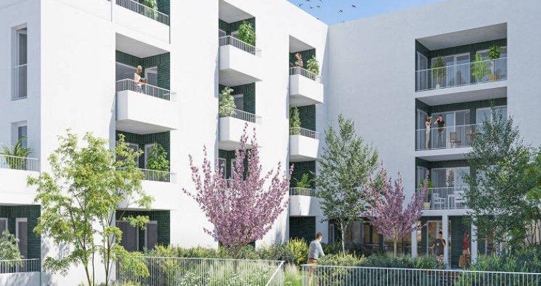 Achat / Vente programme immobilier neuf Lormont au pied du parc de l'Ermitage (33310) - Réf. 5695
