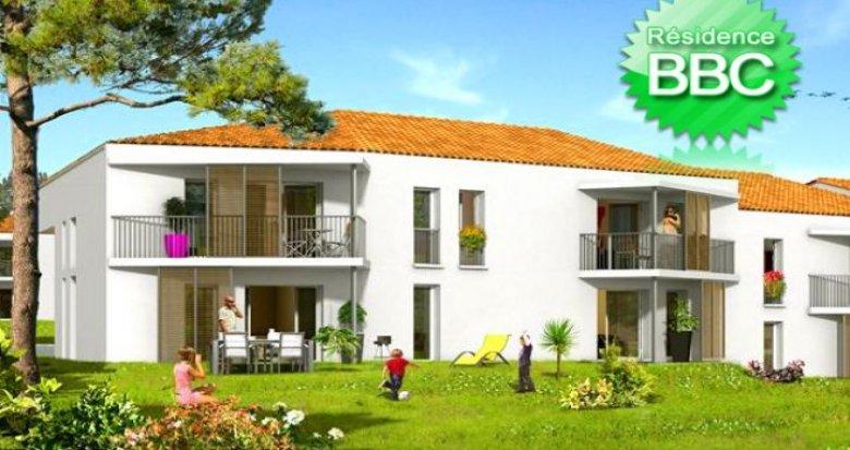 Achat / Vente programme immobilier neuf Martignas-sur-Jalle proche de Bordeaux (33127) - Réf. 1
