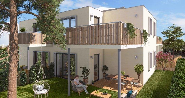 Achat / Vente programme immobilier neuf Mérignac, à 350m station Tram Hôtel de Ville (33700) - Réf. 5225