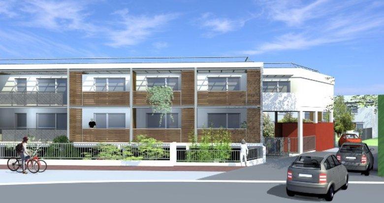 Achat / Vente programme immobilier neuf Mérignac Beutre, quartier résidentiel (33700) - Réf. 1025
