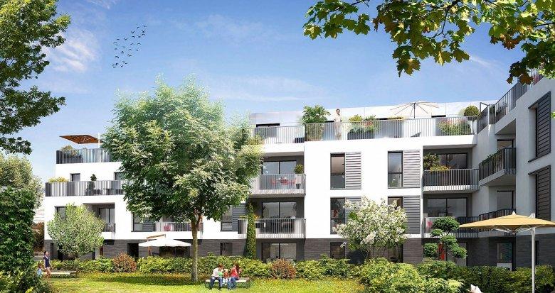 Achat / Vente programme immobilier neuf Mérignac centre à 600 mètres du Tramway A (33700) - Réf. 1345