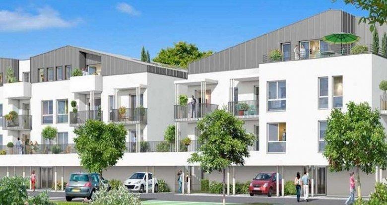 Achat / Vente programme immobilier neuf Mérignac la Forêt proche école et rocade (33700) - Réf. 920