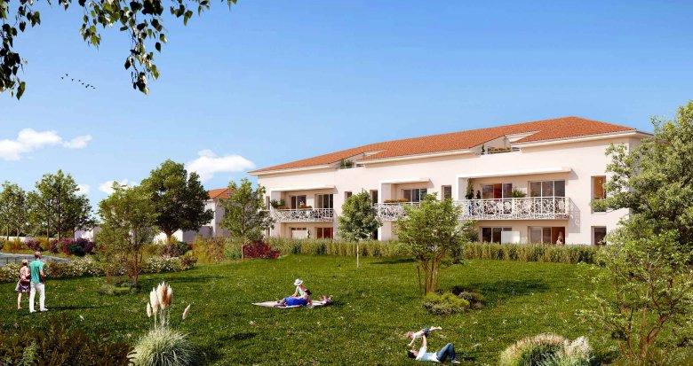 Achat / Vente programme immobilier neuf Mérignac proche Château Picque Cailloux (33700) - Réf. 515