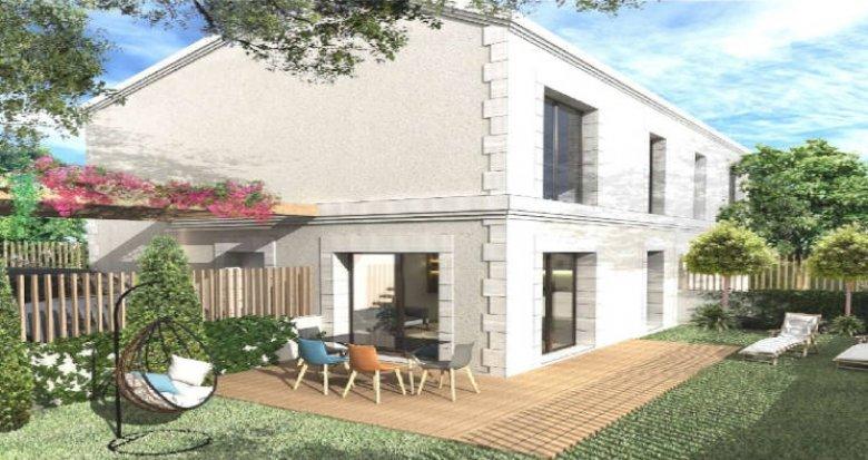 Achat / Vente programme immobilier neuf Mérignac proche du Bois du Burck (33700) - Réf. 6002