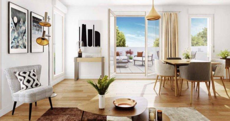 Achat / Vente programme immobilier neuf Mérignac proche parc de Bourran (33700) - Réf. 3018