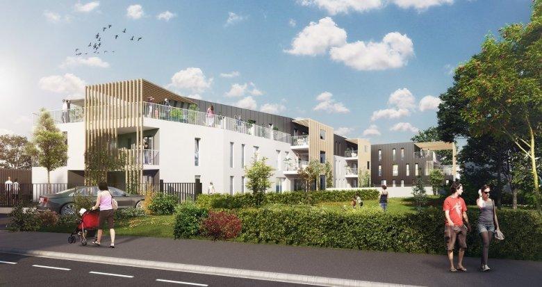 Achat / Vente programme immobilier neuf Mérignac proche transports (33700) - Réf. 236