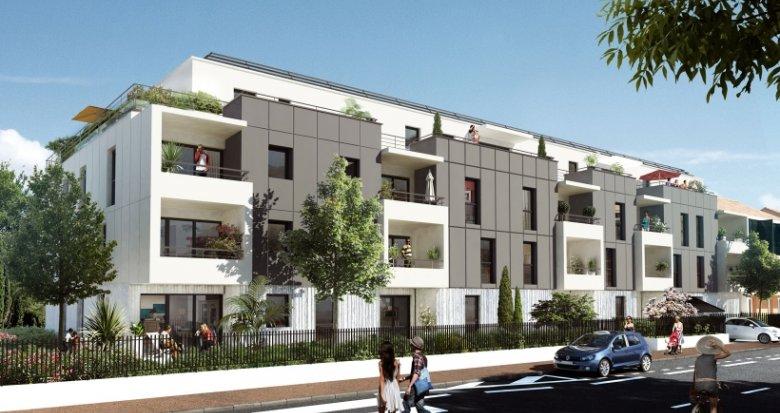 Achat / Vente programme immobilier neuf Mérignac quartier Cauderan (33700) - Réf. 1096