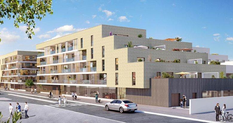 Achat / Vente programme immobilier neuf Mérignac quartier Chemin Long (33700) - Réf. 1819