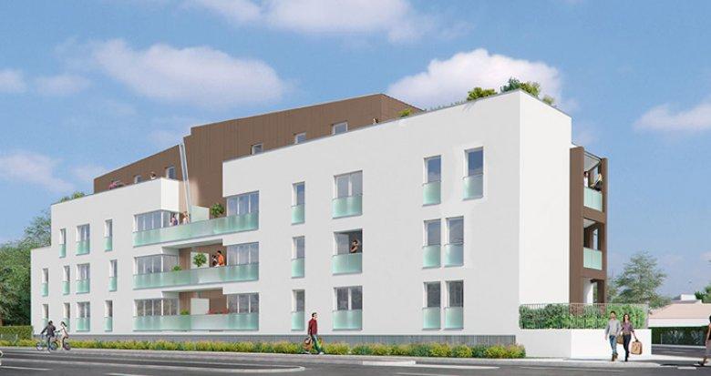 Achat / Vente programme immobilier neuf Mérignac, rue du Logey (33700) - Réf. 157