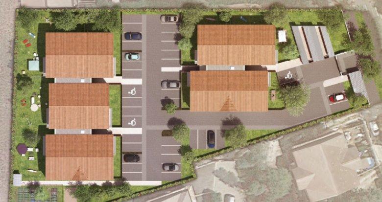 Achat / Vente programme immobilier neuf Parempuyre à 10min à pied du centre ville (33290) - Réf. 5438