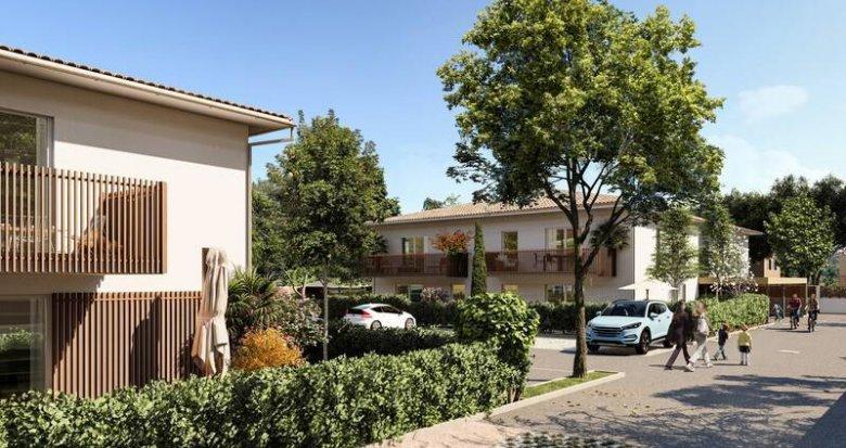 Achat / Vente programme immobilier neuf Parempuyre à proximité du centre ville (33290) - Réf. 6281