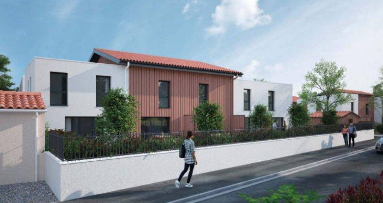 Achat / Vente programme immobilier neuf Parempuyre au cœur de ville (33290) - Réf. 4757