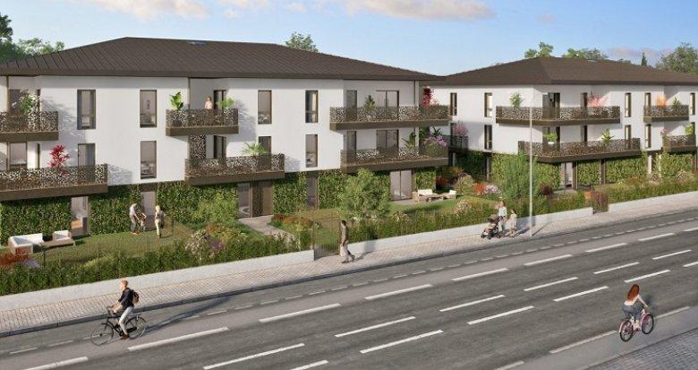 Achat / Vente programme immobilier neuf Pessac à 10 min de la Forêt du Bourgailh (33600) - Réf. 5889