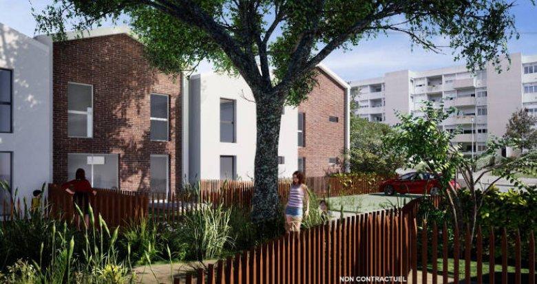 Achat / Vente programme immobilier neuf Pessac, à 500m de la station Tram Bougnard (33600) - Réf. 5193