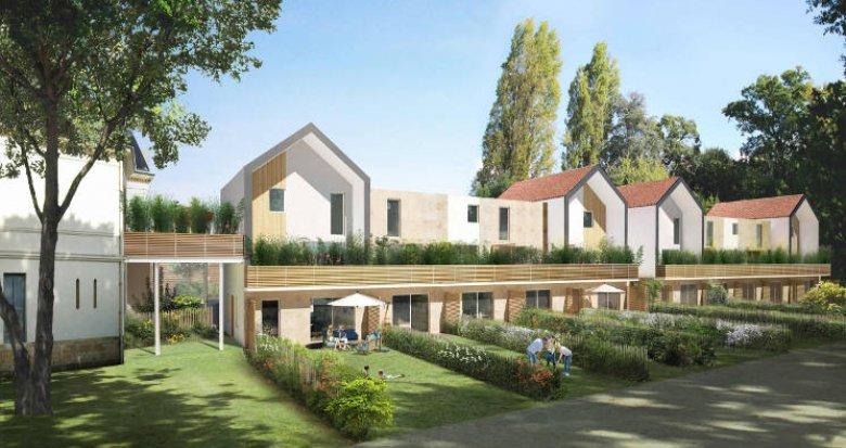 Achat / Vente programme immobilier neuf Pessac à 600m de la place du Marché (33600) - Réf. 5702