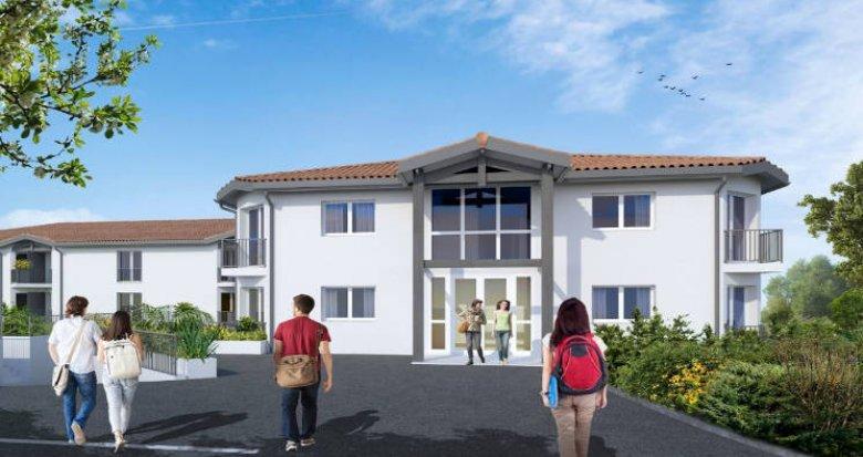 Achat / Vente programme immobilier neuf Pessac à deux pas des transports (33600) - Réf. 4733