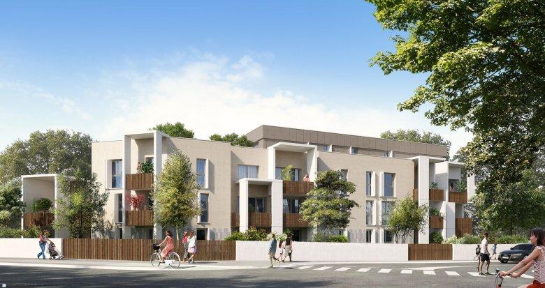 Achat / Vente programme immobilier neuf Pessac Alouette, à 100m du Tram (33600) - Réf. 334