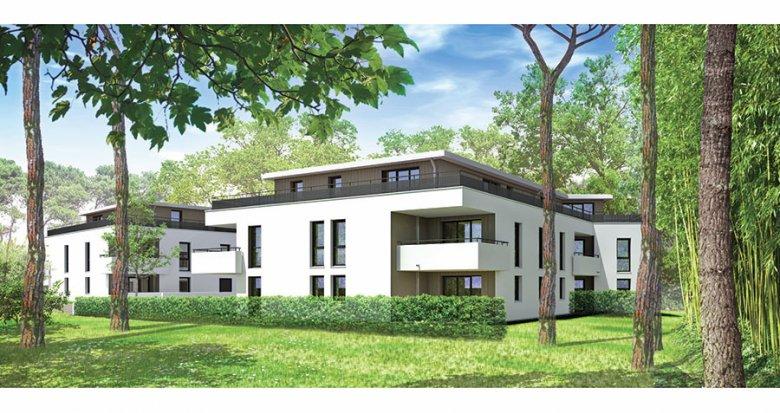 Achat / Vente programme immobilier neuf Pessac Haut Lévêque au pied du Tram (33600) - Réf. 1024