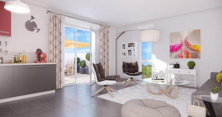 Achat / Vente programme immobilier neuf Pessac proche Château Pape Clément (33600) - Réf. 2093
