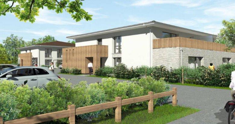 Achat / Vente programme immobilier neuf Pessac proche Gazinet (33600) - Réf. 6011