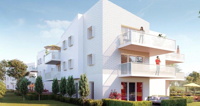 Achat / Vente programme immobilier neuf Pessac proche quartier Compostelle (33600) - Réf. 3040