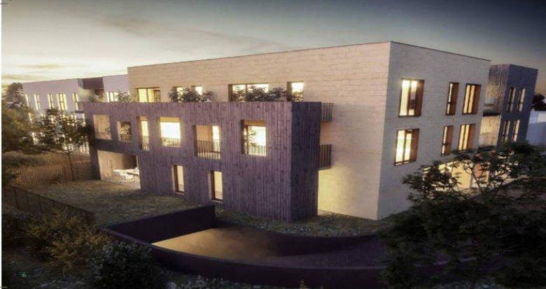 Achat / Vente programme immobilier neuf Pessac quartier des Echoppes (33600) - Réf. 3457