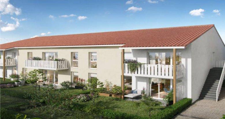 Achat / Vente programme immobilier neuf Saint-Loubès à 5 min du centre (33450) - Réf. 4941