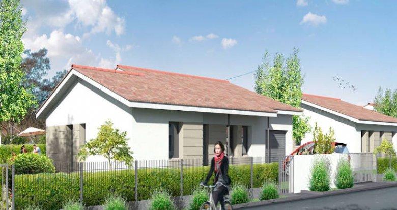 Achat / Vente programme immobilier neuf Saint-Médard-d'Eyrans aux portes de Bordeaux (33650) - Réf. 4382