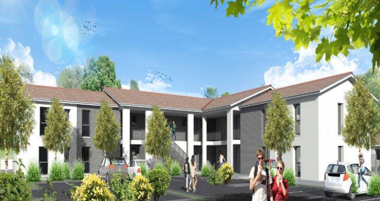 Achat / Vente programme immobilier neuf Saint-Médard-d'Eyrans proche transports (33650) - Réf. 4375
