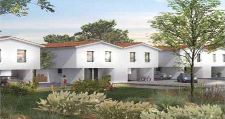 Achat / Vente programme immobilier neuf Saint-Médard-en-Jalles coeur quartier Corbiac (33160) - Réf. 3070