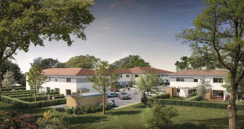 Achat / Vente programme immobilier neuf Sainte-Eulalie proche du Château Malbec (33560) - Réf. 5307