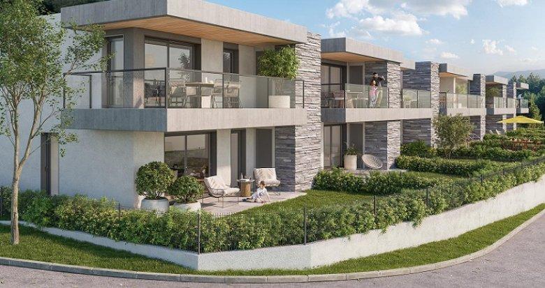 Achat / Vente programme immobilier neuf Seyssins proche centre-ville et nature (33650) - Réf. 5677