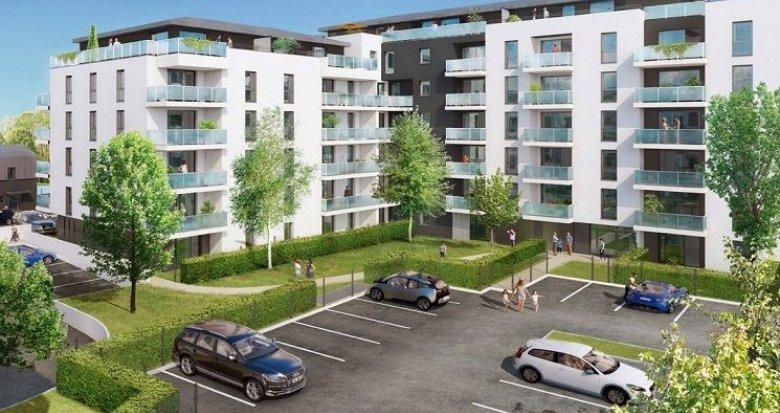 Achat / Vente programme immobilier neuf Talence proche bois de Thouars et universités (33400) - Réf. 1433