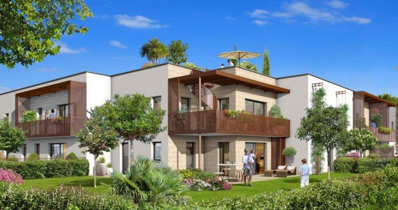 Achat / Vente programme immobilier neuf VILLENAVE-D'ORNON au sud de Bordeaux (33140) - Réf. 2082