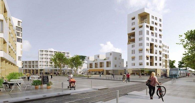 Achat / Vente programme immobilier neuf Villenave d'Ornon Pont de la Maille, futur extension tram C au pied de la résidence (33140) - Réf. 1010