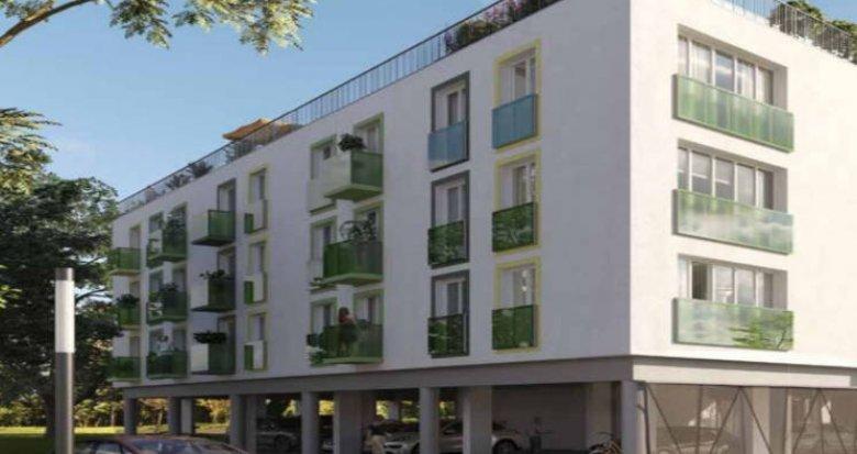 Achat / Vente programme immobilier neuf Villenave-d'Ornon proche lac Versin (33140) - Réf. 2968
