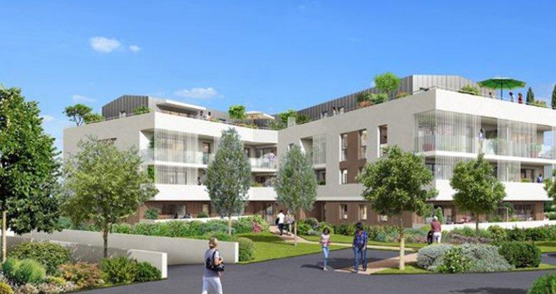 Achat / Vente programme immobilier neuf Villenave-d'Ornon proche Parc Sourreil (33140) - Réf. 2514