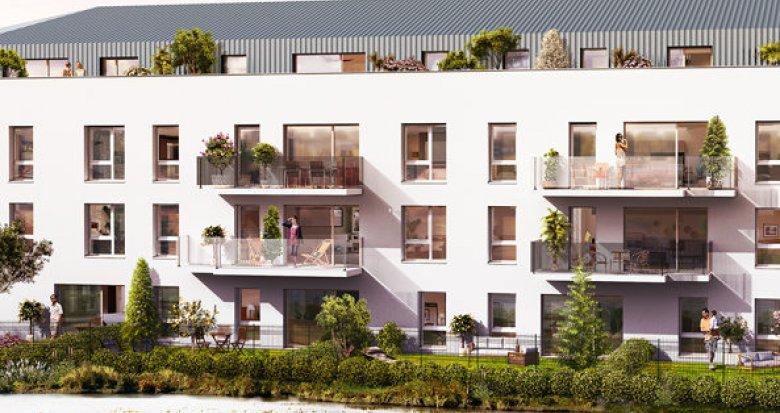 Achat / Vente programme immobilier neuf Villenave-d'Ornon quartier Bocage (33140) - Réf. 1672