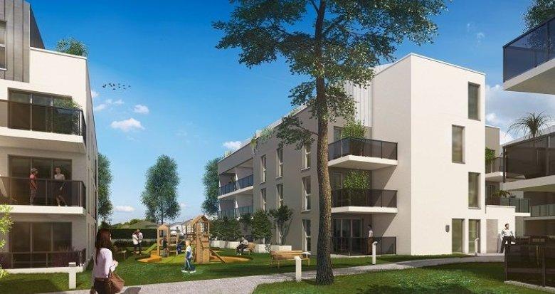 Achat / Vente programme immobilier neuf Villenave-d'Ornon quartier Chambery (33140) - Réf. 574
