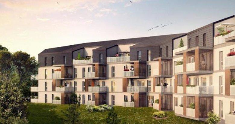 Achat / Vente programme immobilier neuf Villenave d'Ornon quartier résidentiel Chambéry (33140) - Réf. 601
