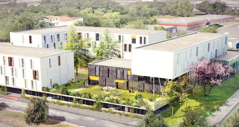 Achat / Vente programme immobilier neuf Villenave d'Ornon résidence étudiante proche campus (33140) - Réf. 1091